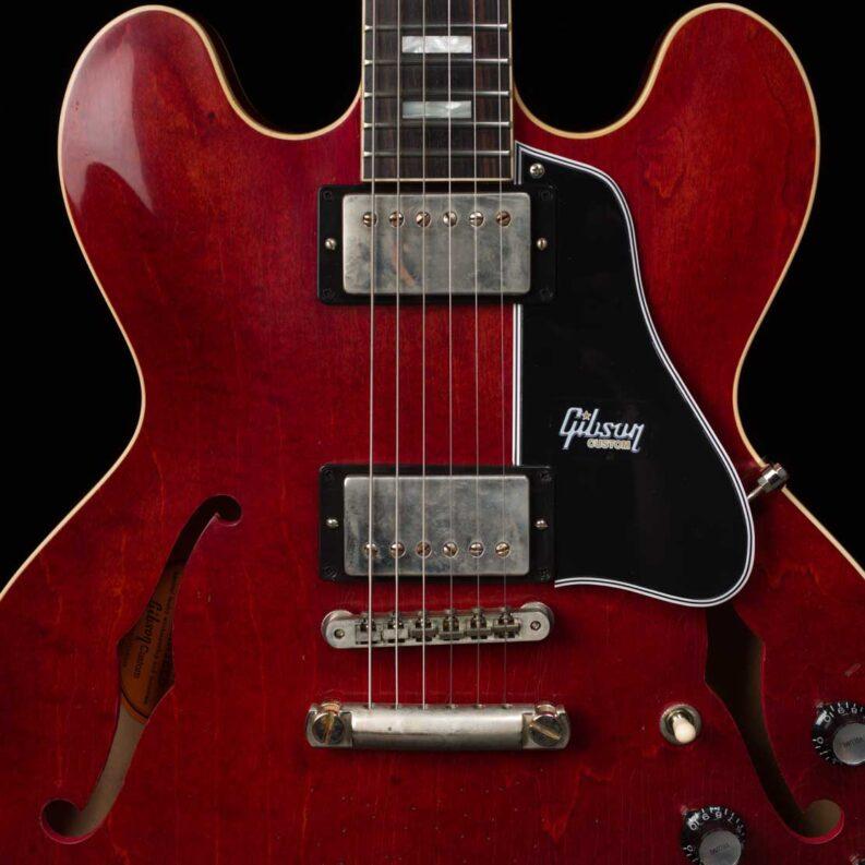 1963 ES-335 Block Aged (Antique Viking Red)