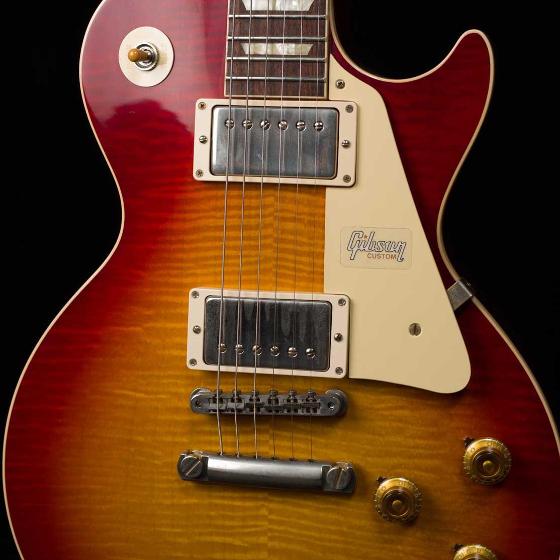 60th Anniversary 1960 Les Paul Standard Version 1 VOS (Deep Cherry Sunburst)
