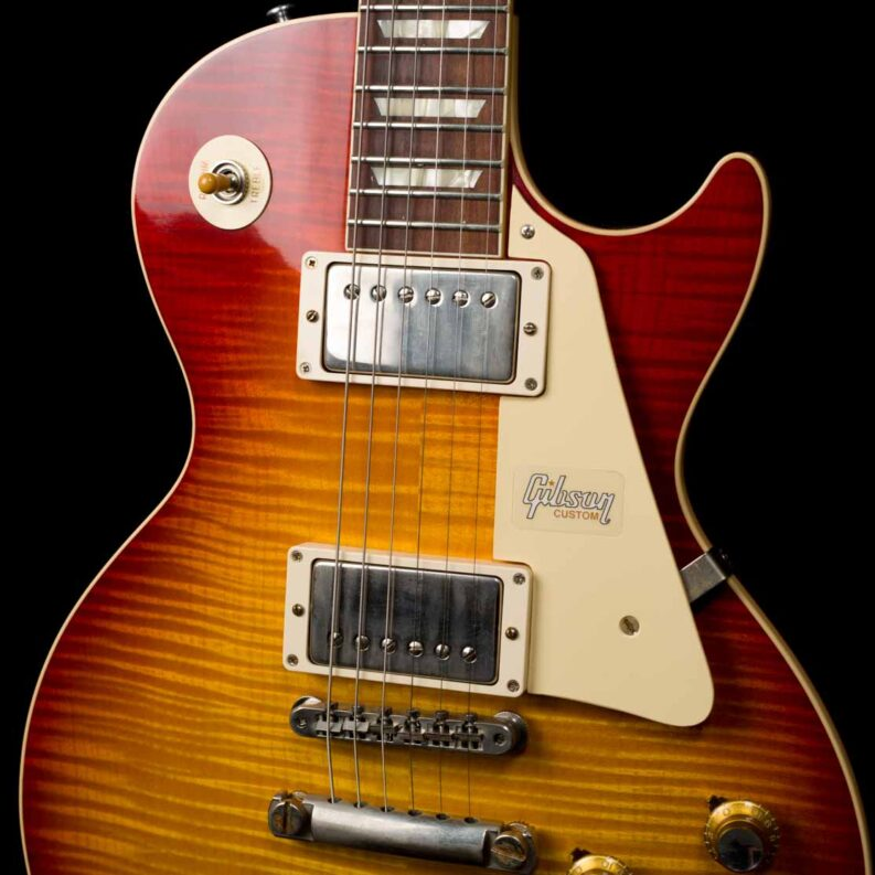 60th Anniversary 1960 Les Paul Standard Version 2 VOS (Tomato Soup Burst)