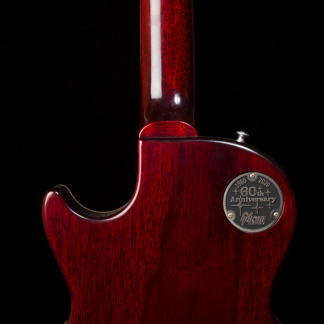 60th Anniversary 1960 Les Paul Standard Version 2 VOS (Tomato Soup Burst)