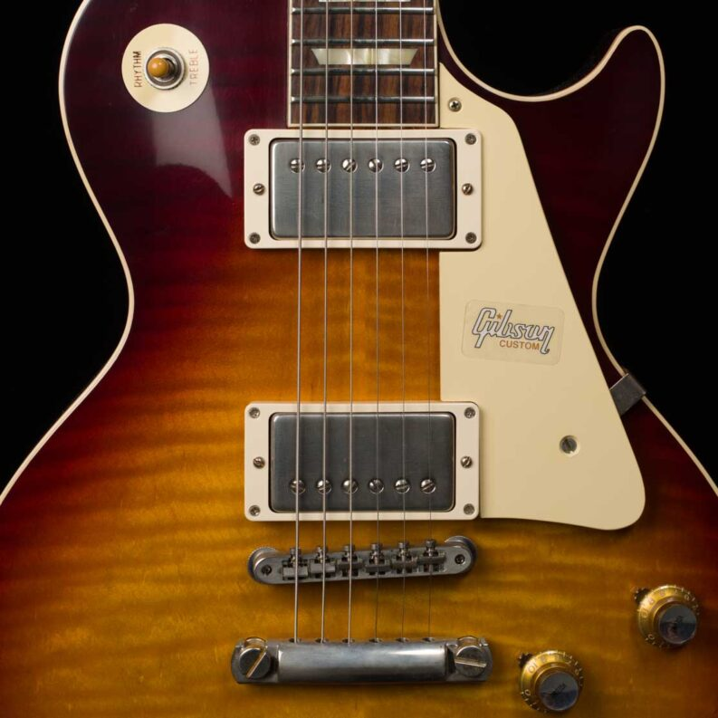 60th Anniversary 1960 Les Paul Standard Version 3 VOS (Washed Bourbon Burst)