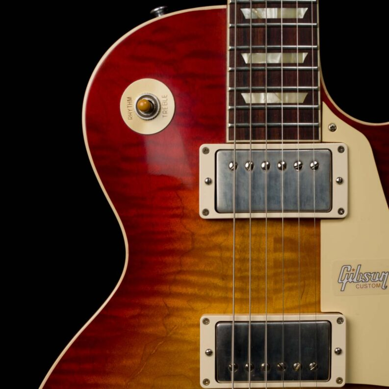 60th Anniversary 1960 Les Paul Standard Version 3 VOS (Wide Tomato Burst)